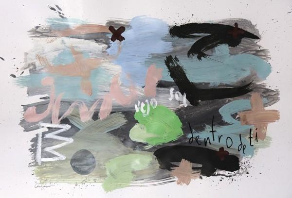 Pintura s/ papel 70X100cm [EB030]